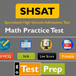 Free SHSAT Math Practice Test Question Answers 2020
