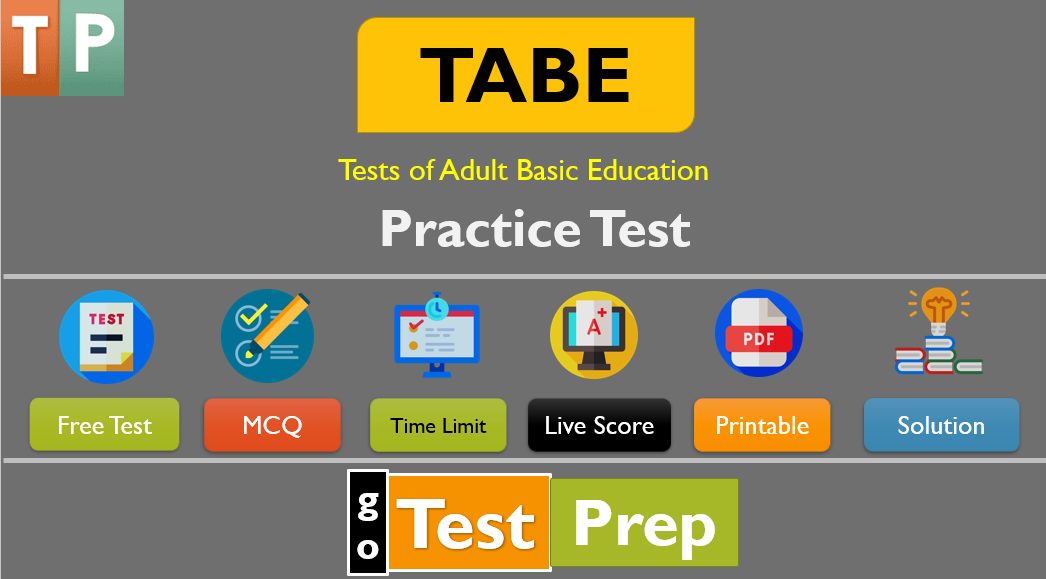 Free TABE Practice Test and Study Guide 2021