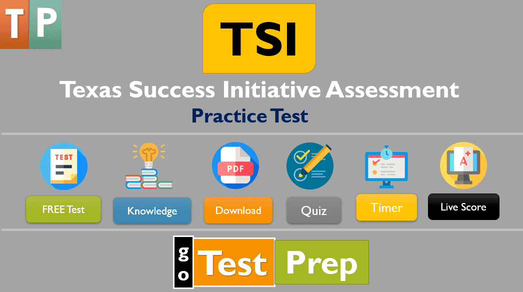 TSI Practice Test 2021 Texas Success Initiative Assessment Exam