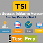 TSI Reading Practice Test 2021 (Sample Questions Answers)