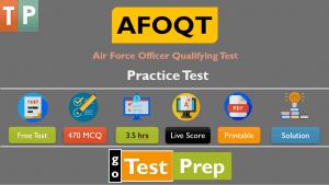 AFOQT Practice Test 2021 (Free Question Answers PDF)