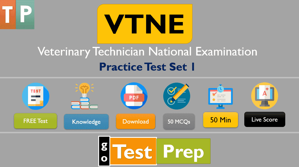 Free VTNE Practice Test Quiz Set 1 (50 Questions Answers)