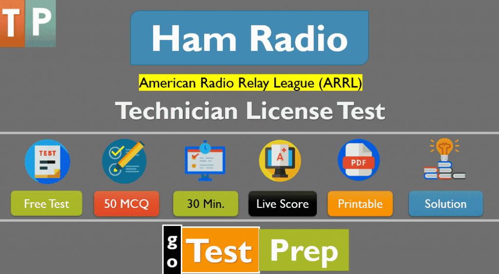 Ham Radio Practice Test for Technician License (50 ...