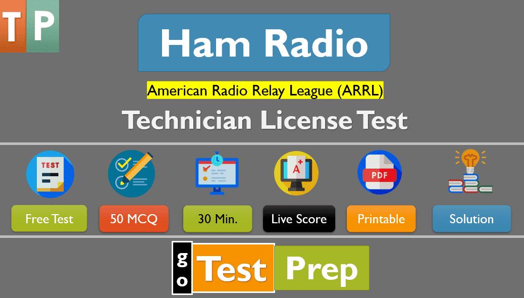 Ham Radio Technician Practice Test Questions Answers