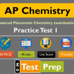AP Chemistry Practice Test 1 (30 Sample Question Answers)
